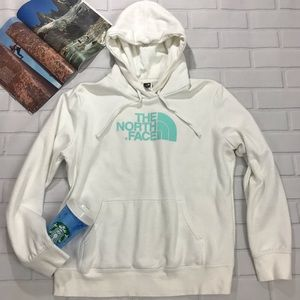 North face Hoodie Sweater pullover hooded white L